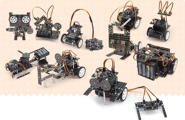 BỘ ĐỒ CHƠI ROBOT ROBO KIT 1