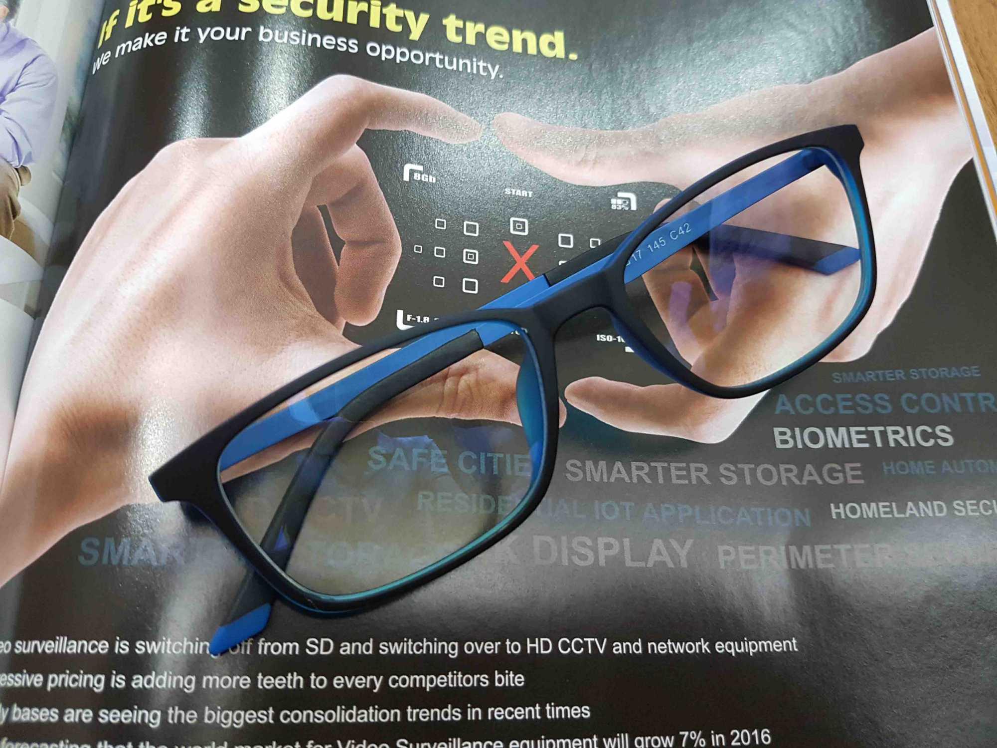 kính chống tia sáng xanh kv019