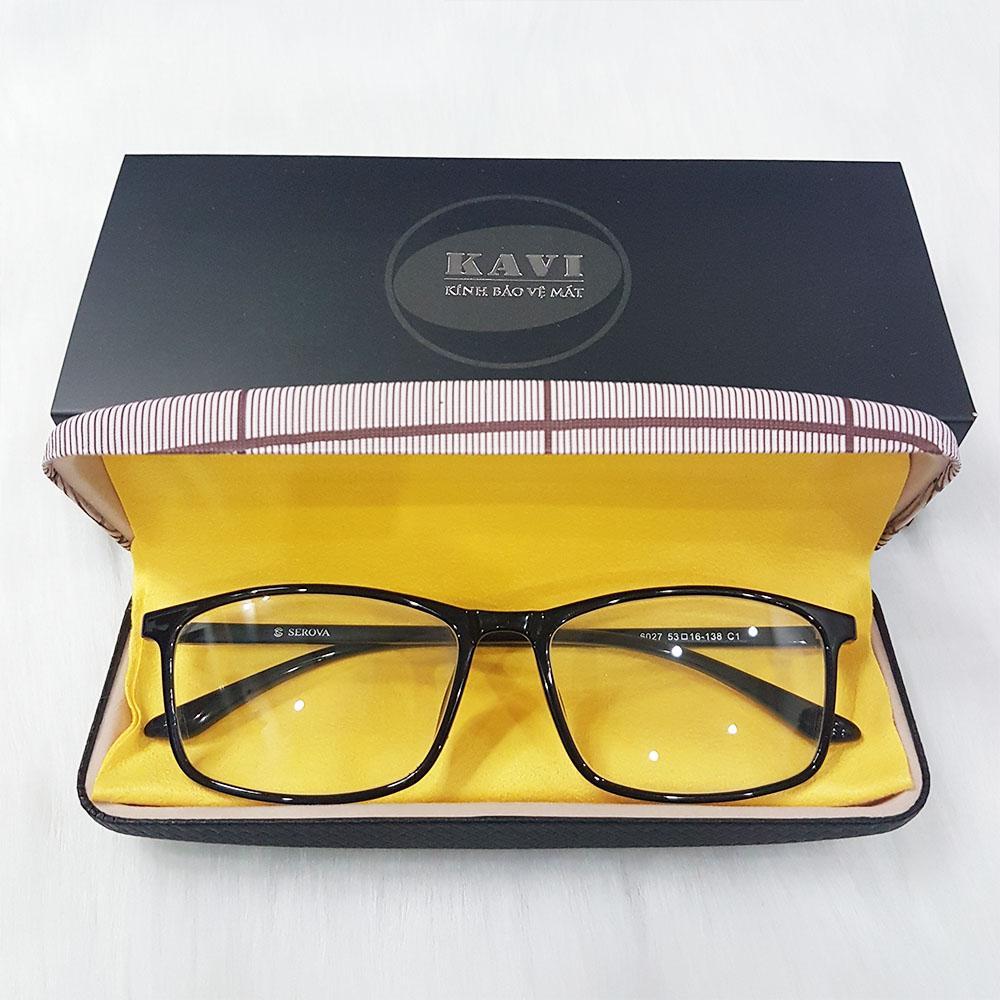 kính chống ánh sáng xanh kv014