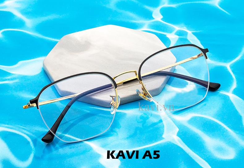 Kính chống ánh sáng xanh gọngTITAN Kavi A5