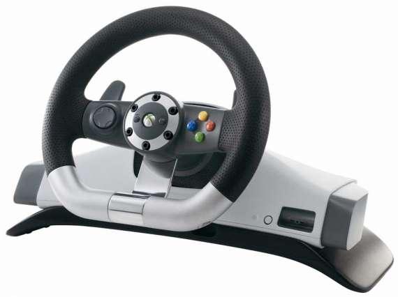 Bộ Vô Lăng, Chân Ga, Cần điều khiển chơi game lái xe Xbox360