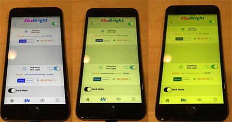 App lọc ánh sáng xanh