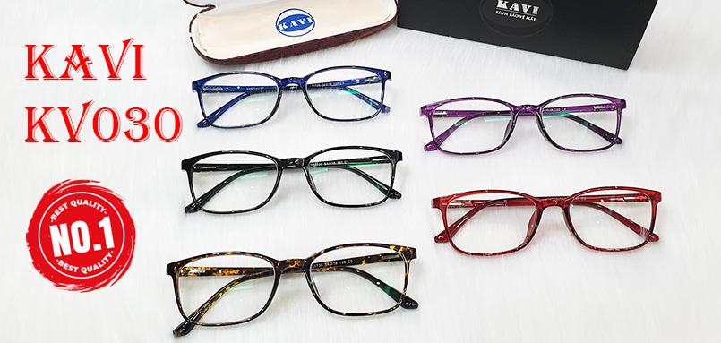 kính chống ánh sáng xanh bảo vệ mắt KV030