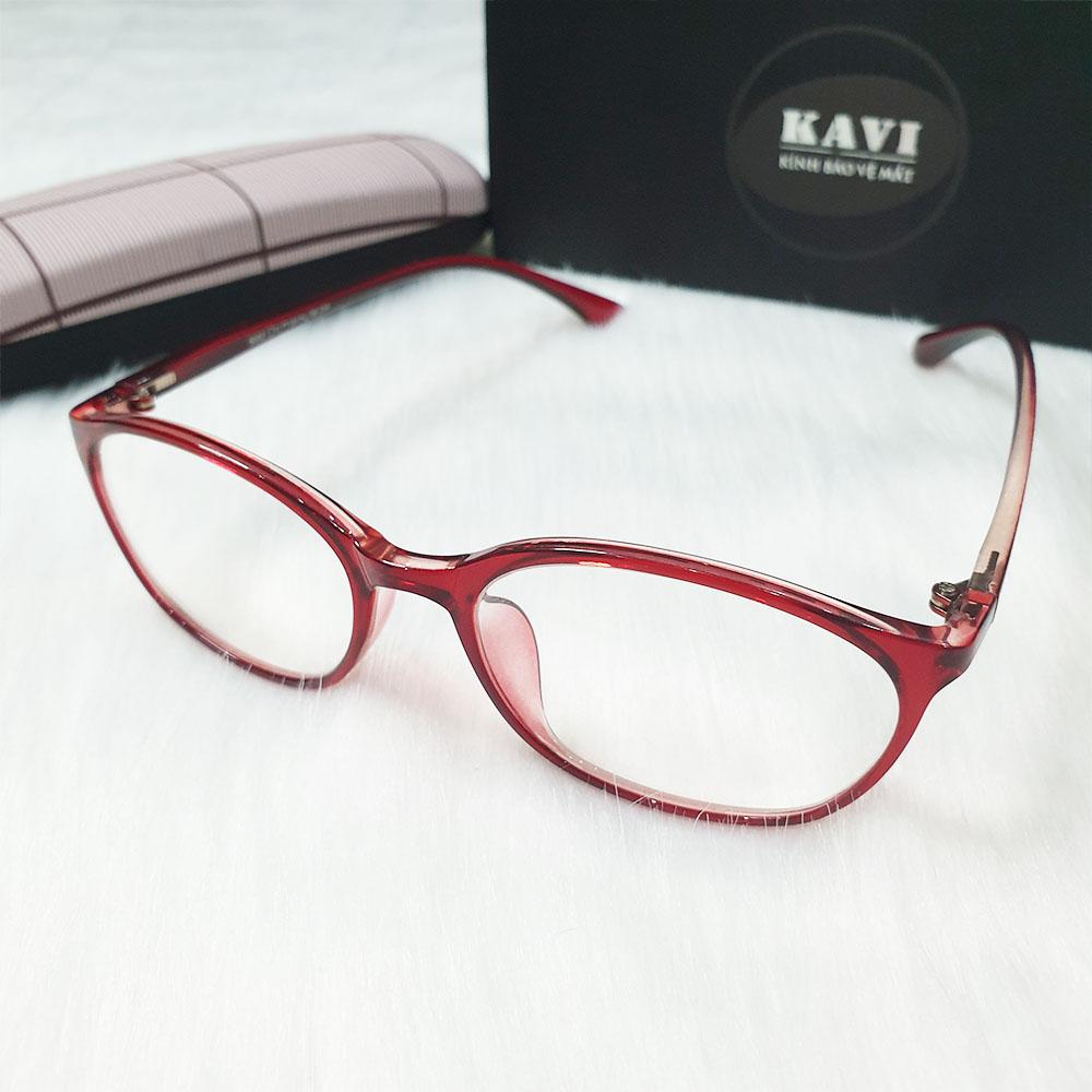 KAVI126 - Kính Bảo Vệ Mắt Chống Ánh Sáng Xanh ( Đỏ )