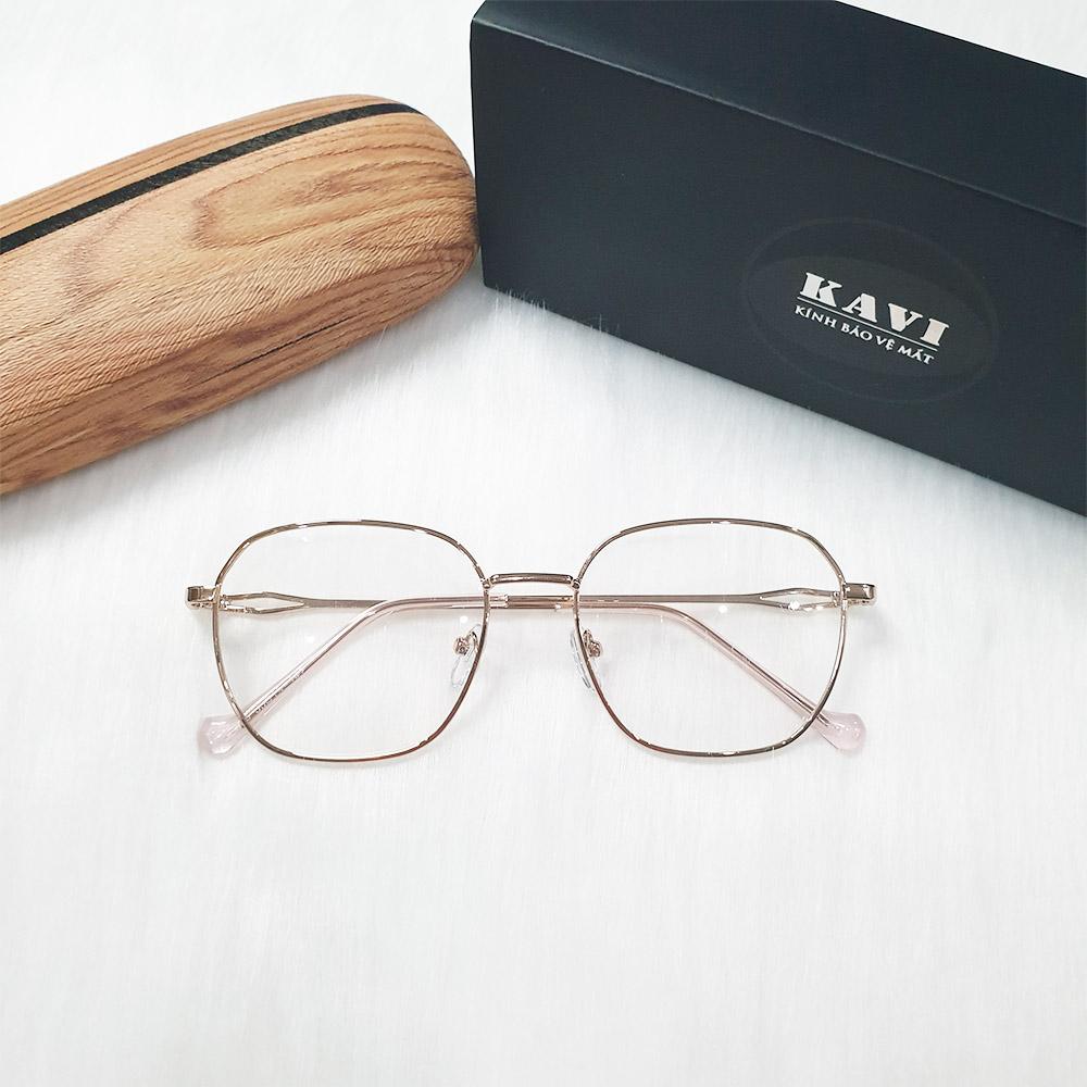 kính chống ánh sáng xanh cho nữ kavi132