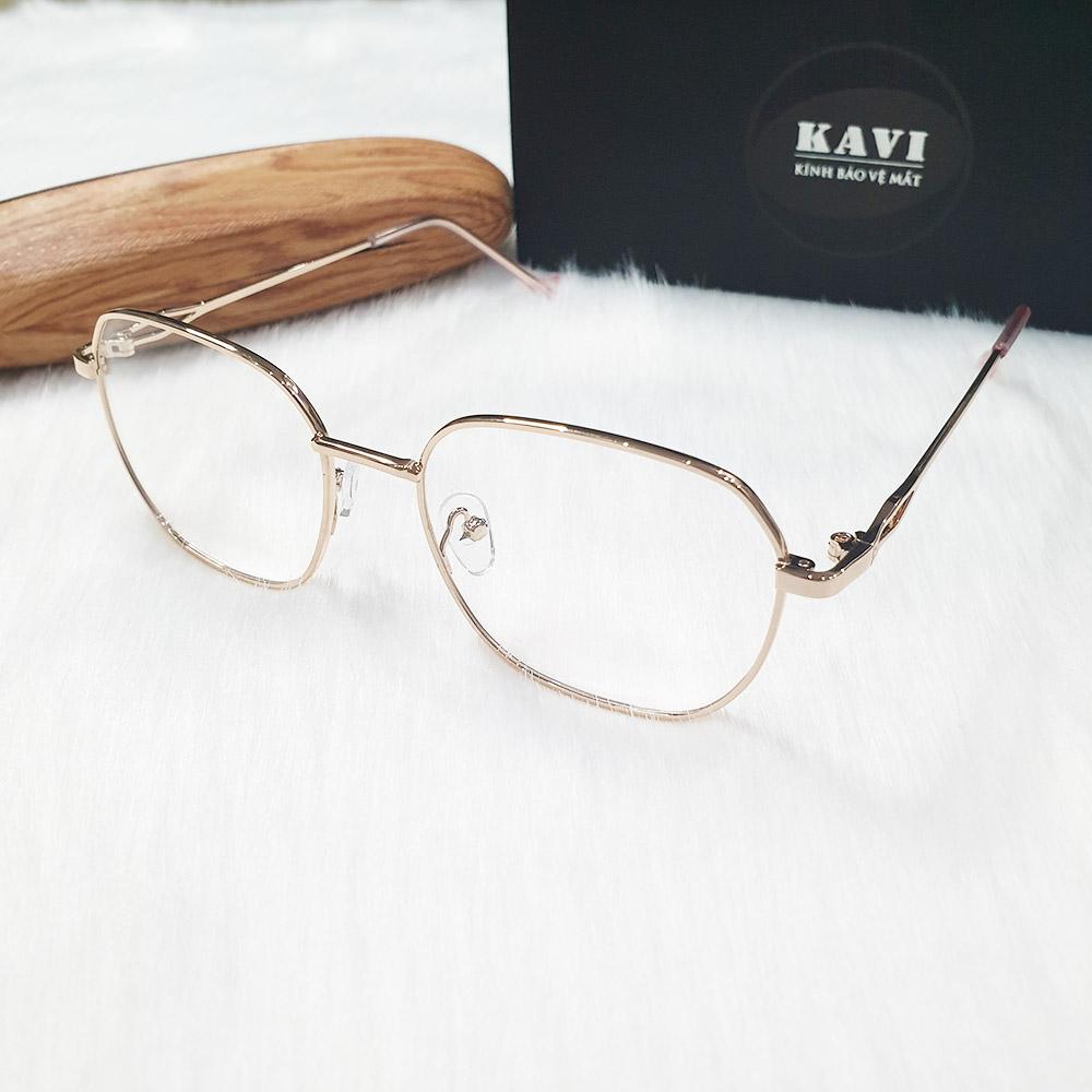 kính bảo vệ mắt máy tính nữ kavi132
