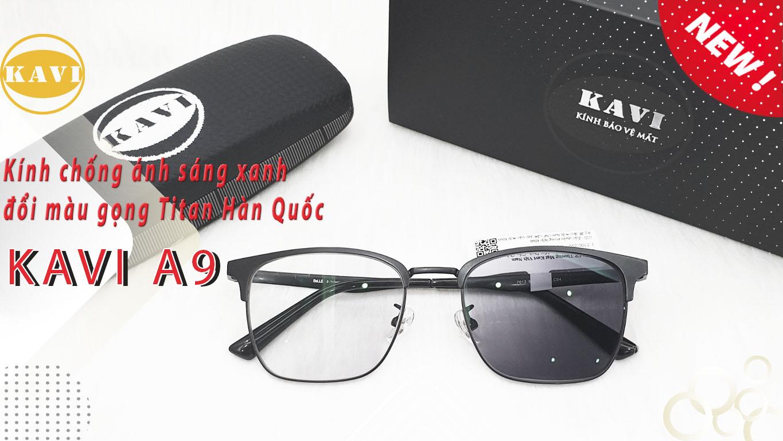 kính chống ánh sáng xanh kavi a9
