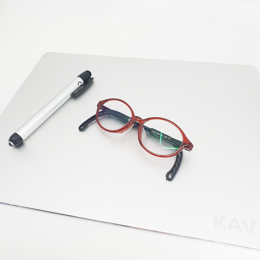KV045 - Kính trẻ em dùng máy tính từ 3-10 tuổi ( Màu đỏ)