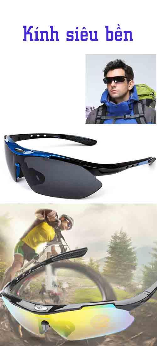 kính mắt thể thao siêu bền