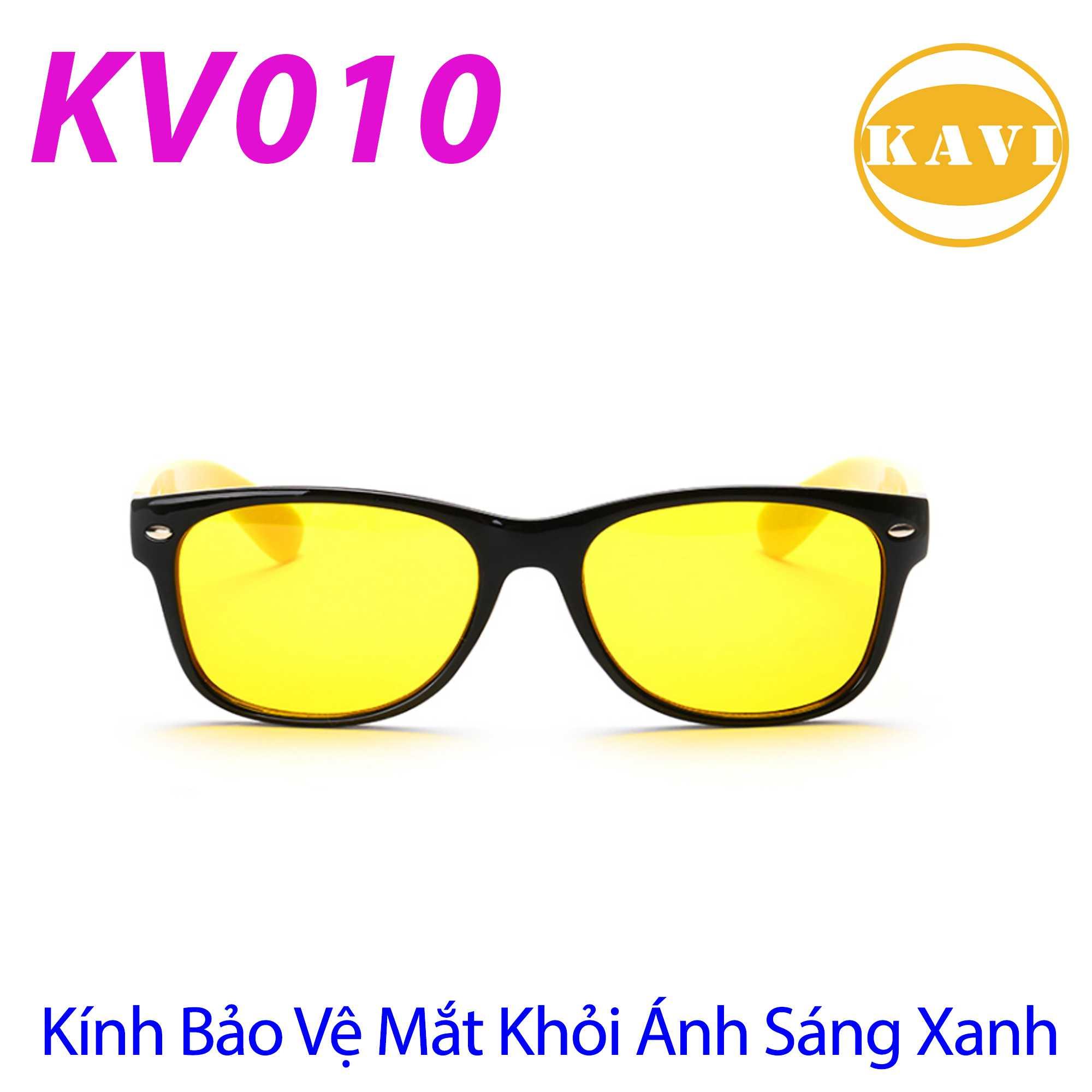 KV010 - Kính không độ chống ánh sáng xanh
