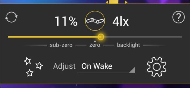 app Lux Auto Brightness lọc ánh sáng xanh