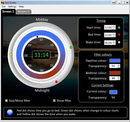 PC Sunscreen ứng dụng chống ánh sáng xanh