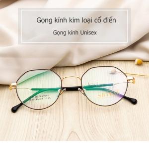 Gọng kính cận kim loại unisex GK301