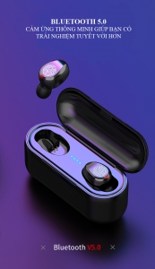 Tai Nghe Không Dây Bluetooth 5.0 Cảm Ứng Vân Tay Chính Hãng Amoi