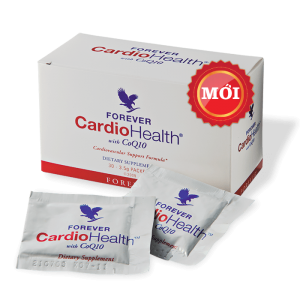 Thực phẩm hỗ trợ tim Forever CardioHealth With CoQ10 312