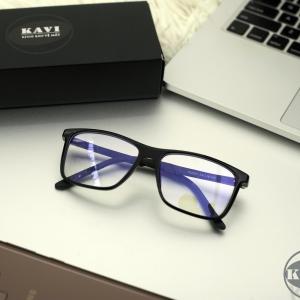 A035 - Gọng kính cận kim loại màu đen