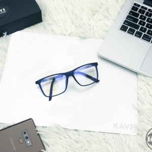 A036 - Gọng kính cận kim loại kết hợp nhựa dẻo