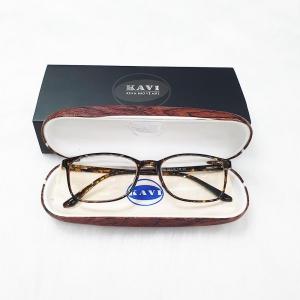 A032 - Gọng kính cận nhựa dẻo TR90 màu hổ phách