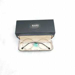 KAVI138 - Kính Chống Ánh Sáng Xanh Bảo Vệ Mắt Gọng Kim Loại màu bạc