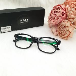 Gọng kính cận thời trang KAVI A147 đen