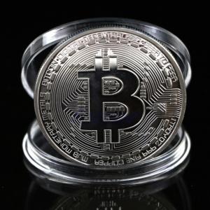 Đồng Xu Bitcoin Bạc