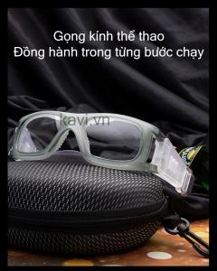 Gọng kính cận bảo vệ mắt chơi thể thao KD105