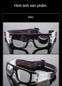 KD102 - Gọng kính cận đá bóng màu đen