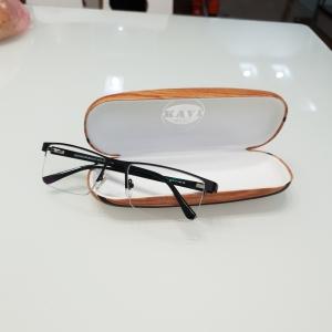 Gọng kính kim loại nửa viền GK307