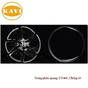 Tròng Kính KAVI Chống Phản Quang, Tia UV400, Chống Vỡ - 1.56
