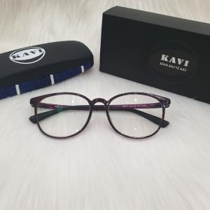 Kavi S4 – Kính đổi màu chống ánh sáng xanh mắt tròn