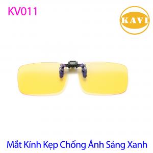 Mắt Kính Kẹp Kavi - Kính Bảo Vệ Mắt Khi Sử Dụng Máy Tính, Chống Ánh Sáng Xanh KV011