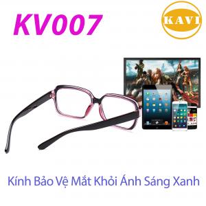 Kính không độ chống ánh sáng xanh KV007