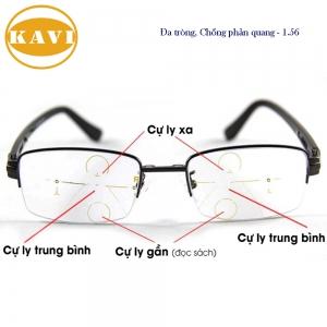 Mắt kính đa tròng KAVI chiết suất 1.56