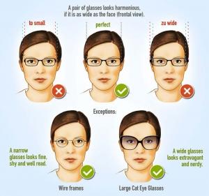 Chọn gọng kính cận phù hợp với khuôn mặt nữ