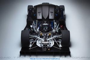 Xe mô hình tĩnh AutoArt 1:18 Siêu xe Pagani Zonda R